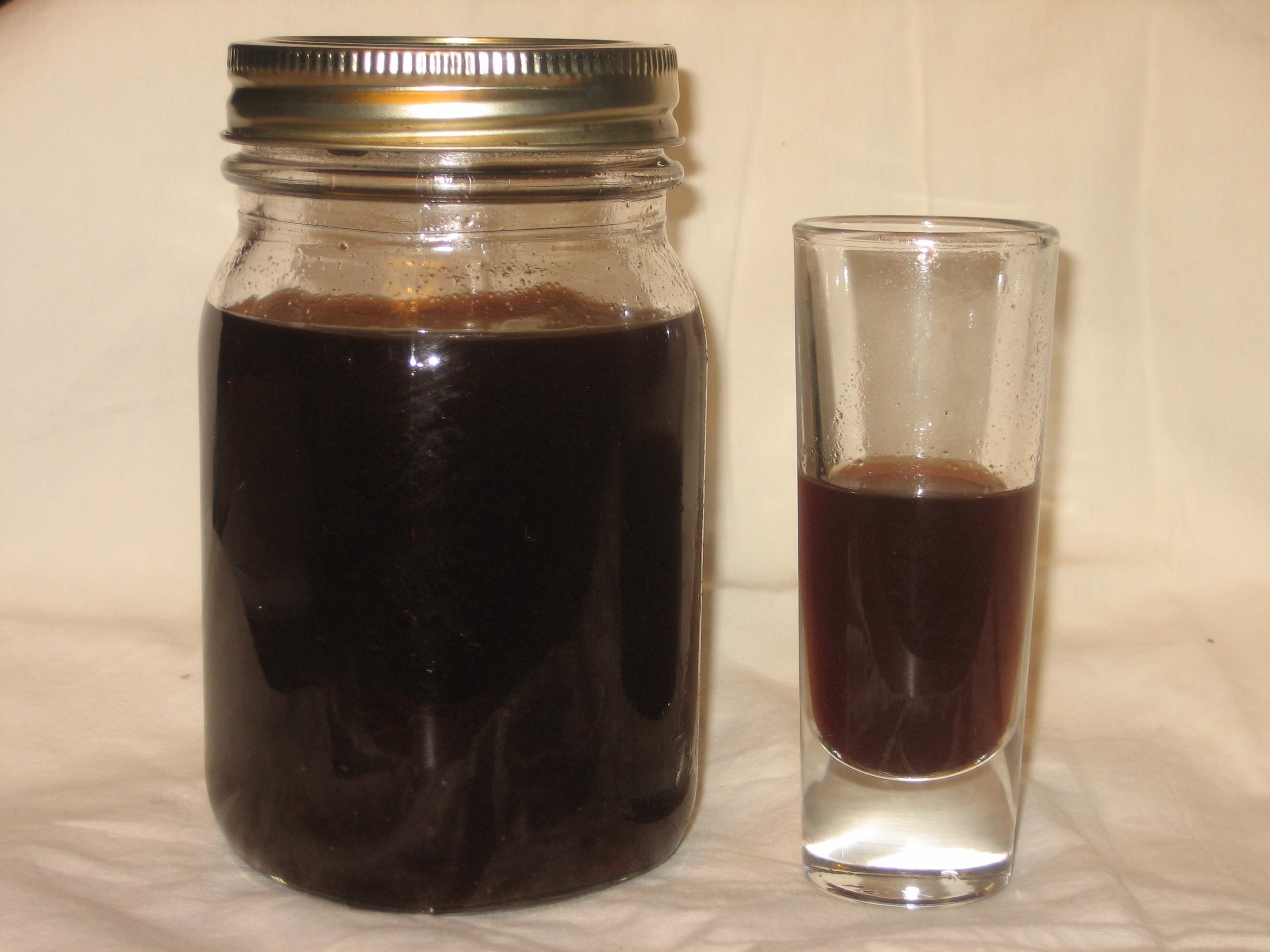 homemade blackberry brandy