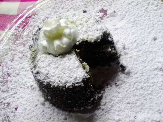 this lava cake has no lava