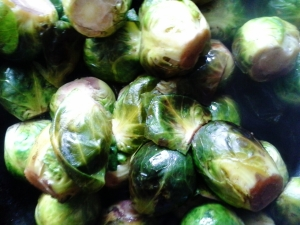 good for you? goes without saying. but these B sprouts are really really good!
