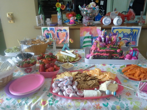 party spread for grazers