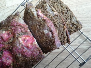 not sold on the pink, but Ultimate Banana Bread is indeed Ultimate