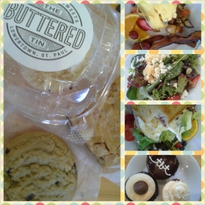 Buttered Tin's salads, sandwiches, and sweets are top-notch