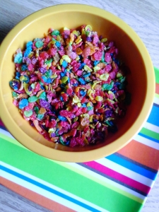 fruity pebbles Crunch à la momofuku milk bar