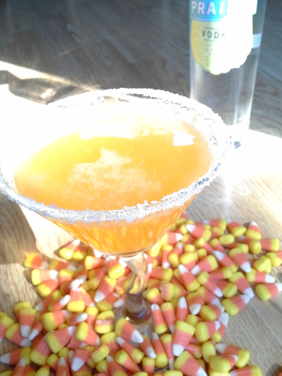 Homemade Candy Corn Vodka by Delizious Food Communications