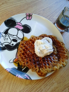 oh, so sweet on waffles