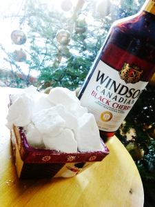 cherry whisky meet other marshmallow ingredients!