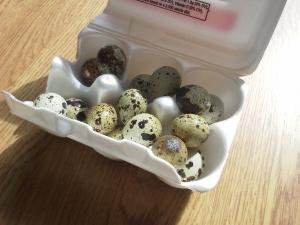 I heart quail eggs.