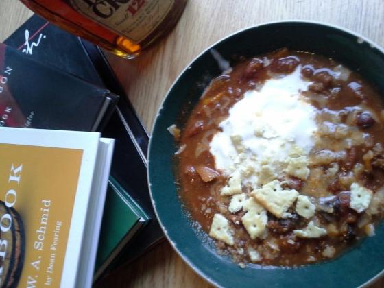 bourbon chili--so good